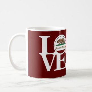 LOVE Watsonville 11oz Coffee Mug