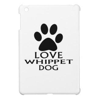 LOVE WHIPPET DOG DESIGNS iPad MINI CASE