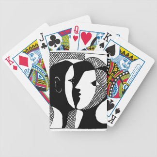 Love Whisper Bicycle Playing Cards