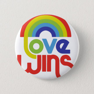 Love Wins 2 Inch Round Button