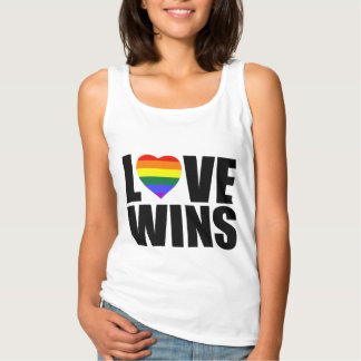 LOVE WINS! CELEBRATE MARRIAGE EQUALITY! TANK TOP