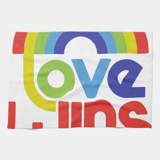 Love Wins Kitchen Towels
