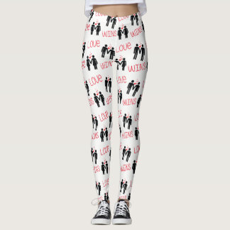 Love Wins LGBT Pride Leggings