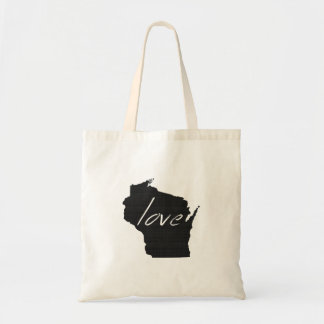 Love Wisconsin Tote Bag