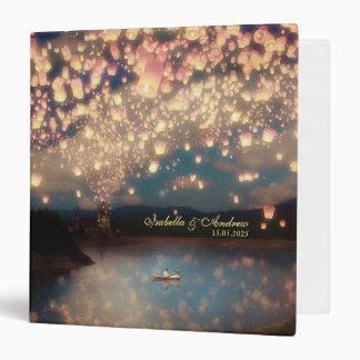 Love Wish Lanterns Vinyl Binders