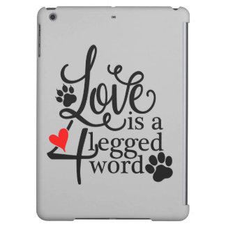 Love With 4 Legs Cover For iPad Air