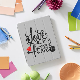 Love With 4 Legs iPad Cover