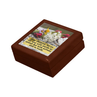Love With Action And Truth Gift Box