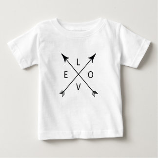Love with Arrows Baby T-Shirt