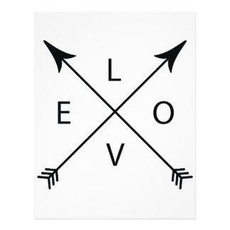 Love with Arrows Letterhead