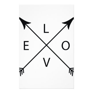 Love with Arrows Stationery