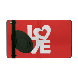 Love with Heart iPad Case