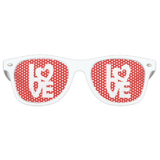 Love with Heart Party Sunglasses