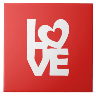Love with Heart Tile
