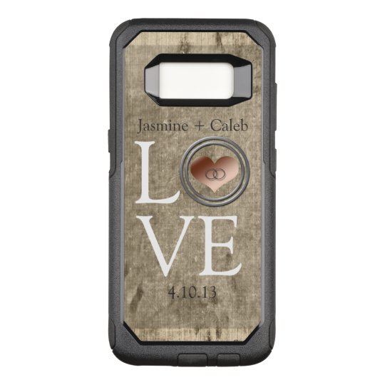 Love-With This Ring by Shirley Taylor OtterBox Commuter Samsung Galaxy S8 Case