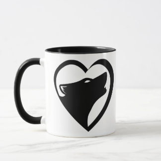 Love Wolves (San Andreas Shifter series logo) Mug