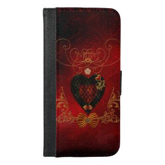 Love, wonderful hearts iPhone 6/6s plus wallet case