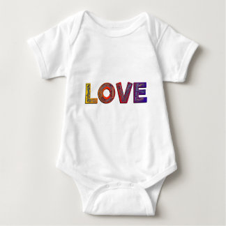LOVE WORDS BABY BODYSUIT