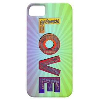 LOVE WORDS iPhone 5 COVERS