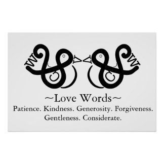 Love Words Poster