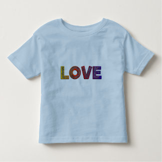 LOVE WORDS TODDLER T-SHIRT