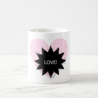 Love wow light pink! coffee mug