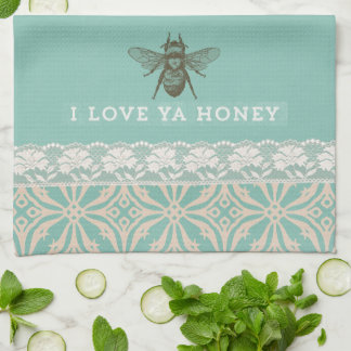 Love Ya Honey Vintage Kitchen Towel