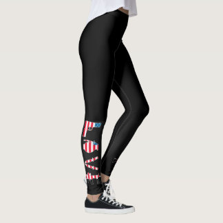 LOVE YOGA and GUNS Leggings
