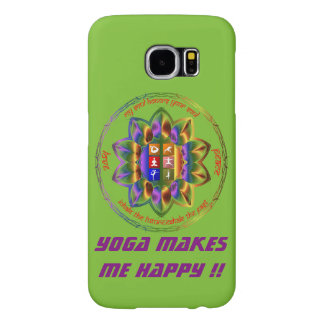 Love Yoga ?? This is for you !! Samsung Galaxy S6 Cases