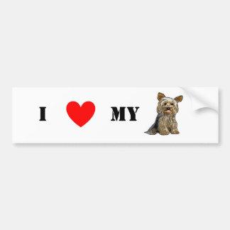Love Yorkies Sticker