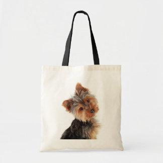 Love Yorkies Yorkshire Terrier Canvas Totebag