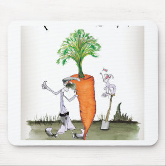 Love Yorkshire big carrots Mouse Pad