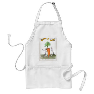Love Yorkshire big carrots Standard Apron