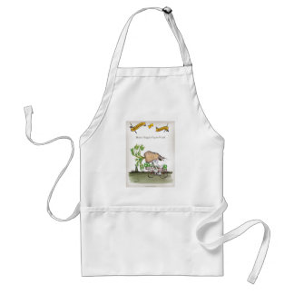 Love Yorkshire big parsnips Standard Apron