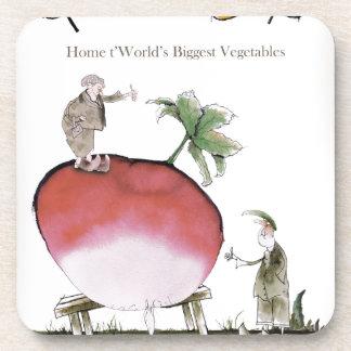 Love Yorkshire big radish Coaster