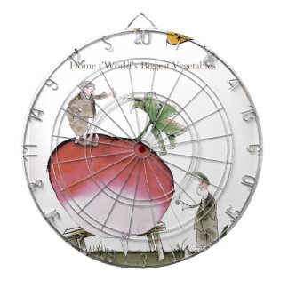 Love Yorkshire big radish Dartboard
