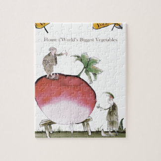 Love Yorkshire big radish Jigsaw Puzzle