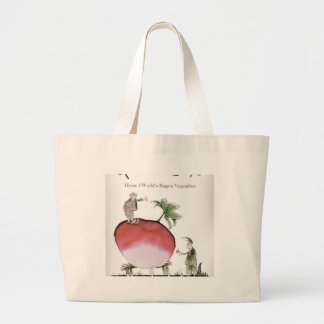 Love Yorkshire big radish Large Tote Bag