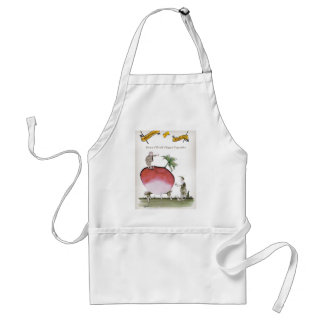Love Yorkshire big radish Standard Apron