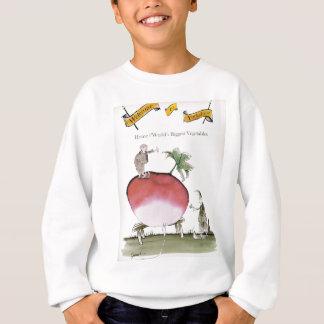Love Yorkshire big radish Sweatshirt