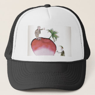 Love Yorkshire big radish Trucker Hat