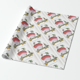 Love Yorkshire big radish Wrapping Paper