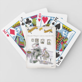 love yorkshire borrowing whippets teeth bicycle playing cards