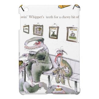 love yorkshire borrowing whippets teeth case for the iPad mini