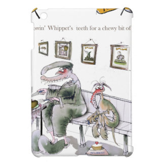 love yorkshire borrowing whippets teeth iPad mini cover