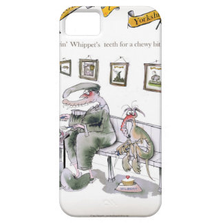 love yorkshire borrowing whippets teeth iPhone 5 case
