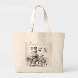 love yorkshire borrowing whippets teeth large tote bag