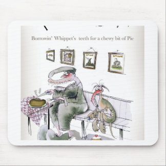 love yorkshire borrowing whippets teeth mouse pad