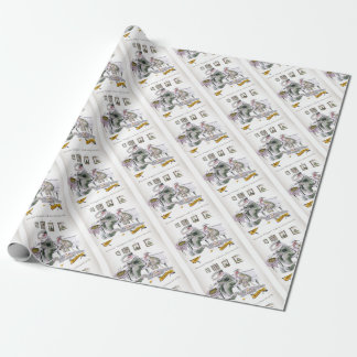 love yorkshire borrowing whippets teeth wrapping paper