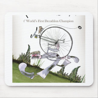 love yorkshire decathlons mouse pad